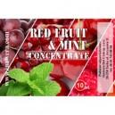 RED FRUIT - MINT е-концентрат, 10 ml