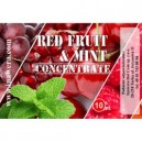 RED FRUIT - MINT e-concentrate, 10 ml
