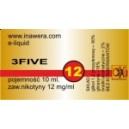 3FIVE e-liquid, 12 mg/ml