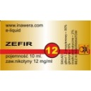ZEFIR e-liquid, 12 mg/ml