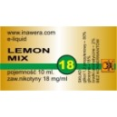 LEMON MIX e-liquid, 18 mg/ml