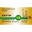 ZEFIR e-liquid, 18 mg/ml