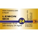LEMON MIX e-liquid, 24 mg/ml
