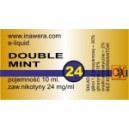 DOUBLE MINT e-liquid, 24 mg/ml