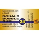 DONALD BUBBLE GUM e-liquid, 24 mg/ml