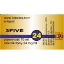 3FIVE e-liquid, 24 mg/ml