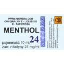 MENTHOL 24 mg/ml