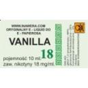 VANILLA 18 mg/ml