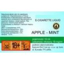 APPLE - MINT e-liquido, 0 mg/ml