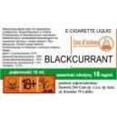 Черная смородина  е-жидкость, 6 mg/ml