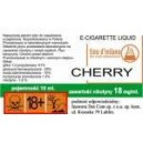 CHERRY e-liquid, 6 mg/ml