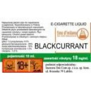 BLACKCURRANT e-liquid, 6 mg/ml