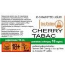 CHERRY TABAC e-liquid, 18 mg/ml