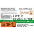 LITTLE SPACE DROP e-liquido, 6 mg/ml