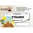 PYRAMID e-liquid, 0 mg/ml