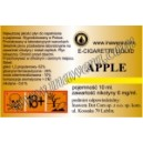 APPLE  e-liquido, 6 mg/ml