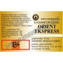 ORIENT EXPRESS e-liquid, 0 mg/ml