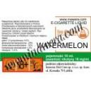 WATERMELON e-liquido, 18 mg/ml