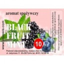 BLACK FRUIT - MINT comestible flavour
