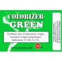 GREEN colouring