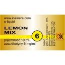 LEMON MIX e-liquid, 6 mg/ml