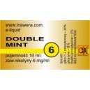 DOUBLE MINT e-liquid, 6 mg/ml