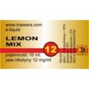 LEMON MIX e-liquid, 12 mg/ml