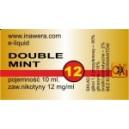 DOUBLE MINT e-liquid, 12 mg/ml