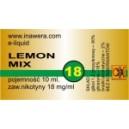 LEMON MIX e-liquid, 18 mg/ml