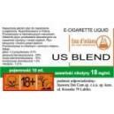 US BLEND e-liquid, 6 mg/ml
